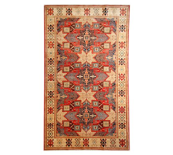 arzu studio hope chains of hope hand knotted rug pottery