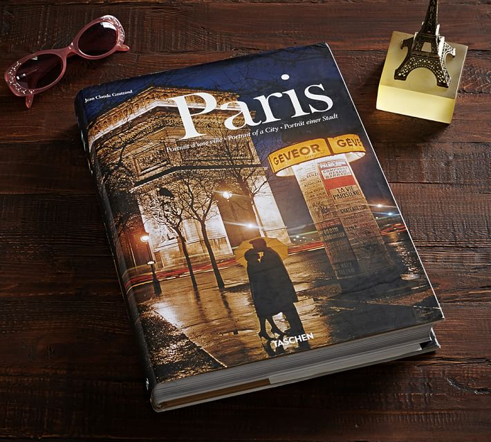 Paris coffee table book