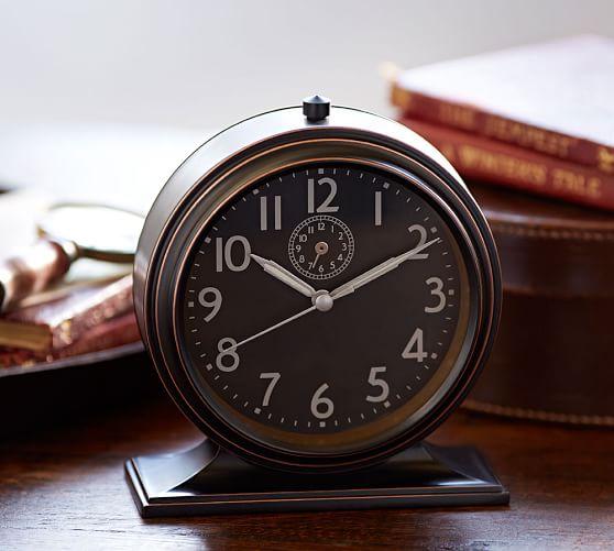 Chester Alarm Clock Pottery Barn
