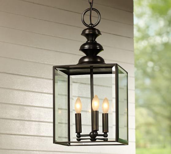 Pottery Barn Outdoor Pendant Lighting: Patterson Indoor/Outdoor Pendant
