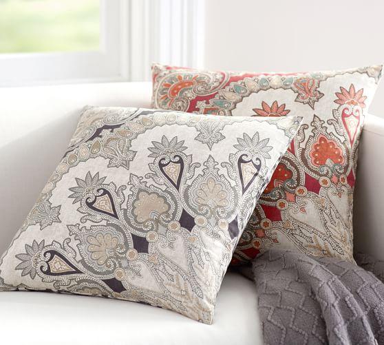 Valencia Paisley Pillow Cover