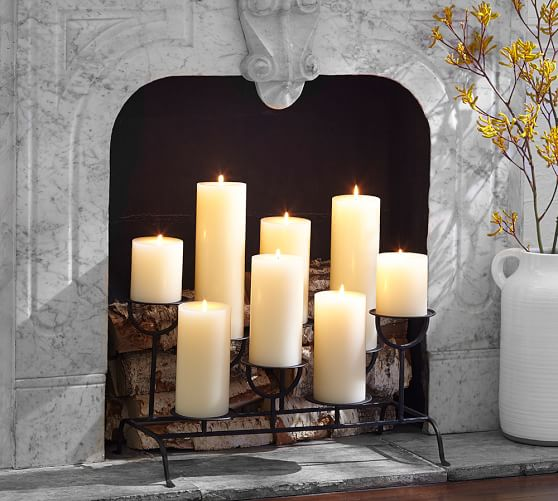Fireplace Candleholder Pottery Barn