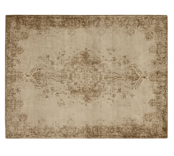 Why Adding A Rug Under Dining Table Sets Is A Must: Fallon Persian-Style Printed Rug - Neutral
