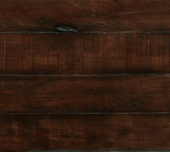 Mahogany Wood Color Finish ~ Rustic mahogany stain wood swatch pottery barn