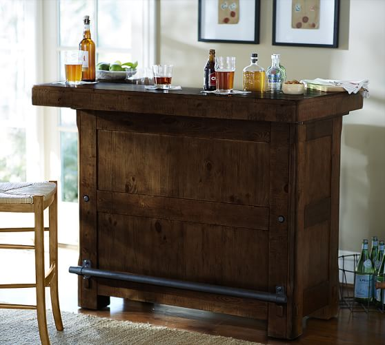 Rustic Ultimate Bar Small Pottery Barn