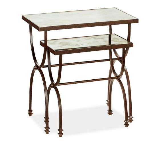 Willow nesting tables set of pottery barn