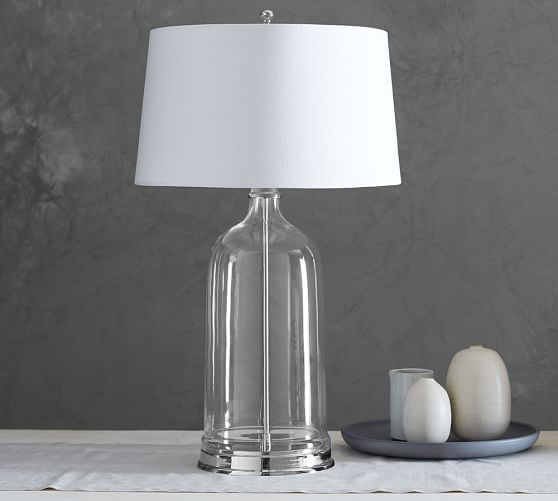 Table lamps living room pottery barn furniture contempo living room atrium glass table lamp pottery barn best inspiration for table lamp aloadofball Image collections