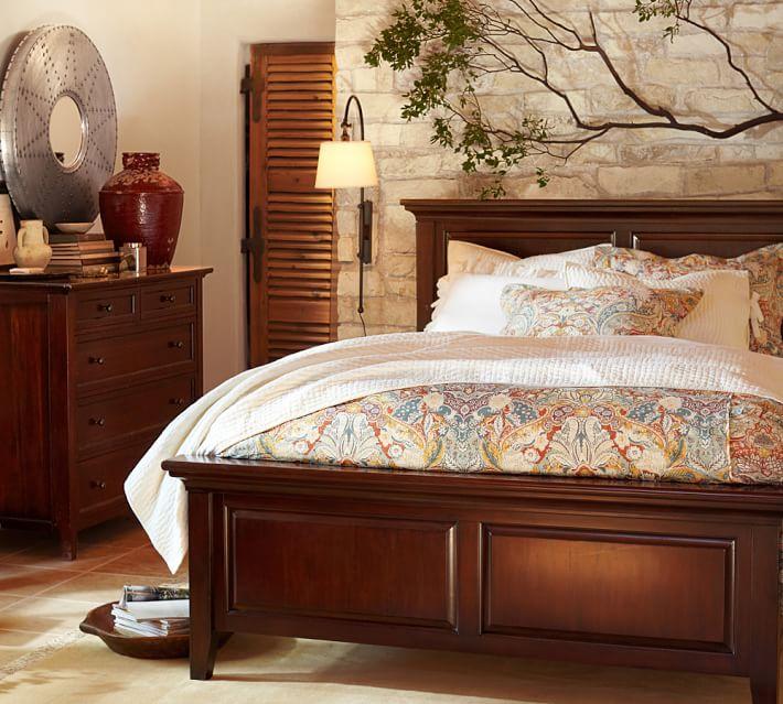 hudson bed & dresser set   pottery barn