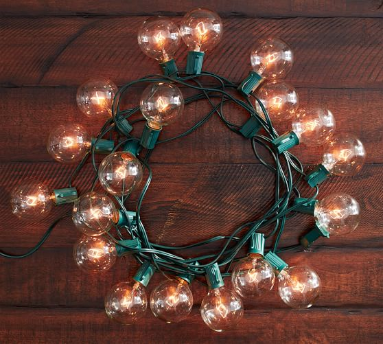 Pottery Barn Mini String Lights : Oversized Globe String Lights Pottery Barn