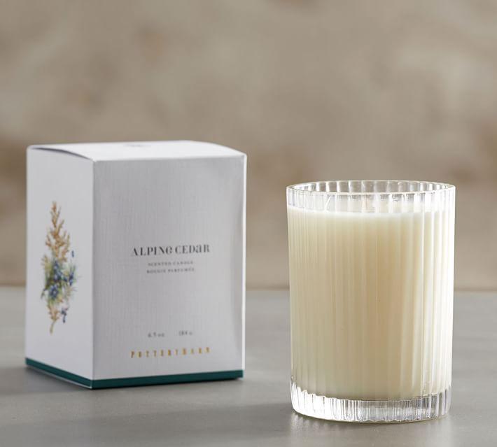 Alpine Cedar Homescent Candle Pot