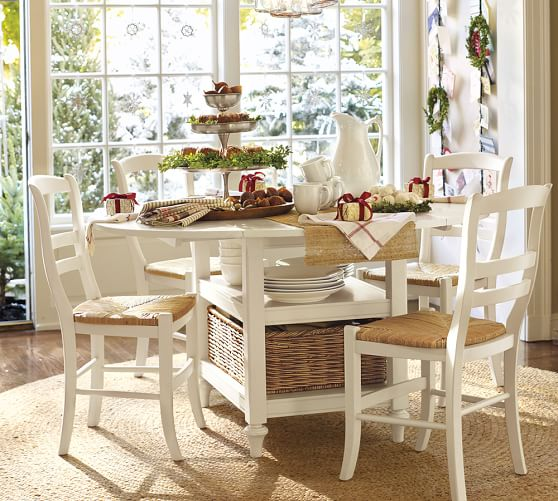 shayne drop leaf kitchen table pottery barn