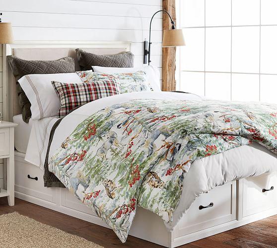 Stratton Storage Platform Bed With