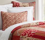 Georgia Patchwork Quilt, Full/Queen, Red