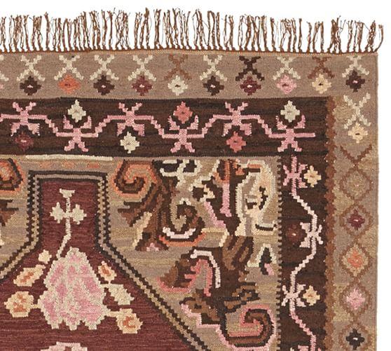 Dabney kilim rug pottery barn - Discontinued pottery barn rugs ...