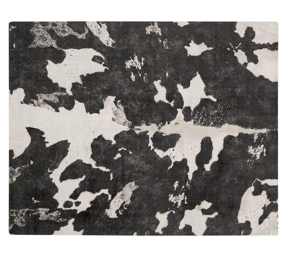 Cow Printed Rug