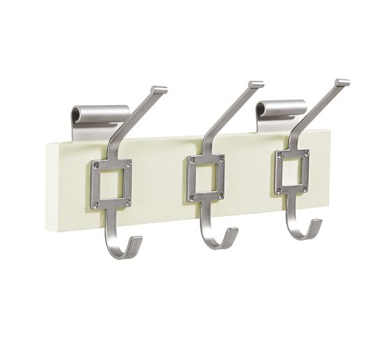 Daily System Row of Hooks, White