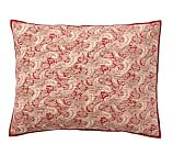Georgia Patchwork Sham, Standard, Red