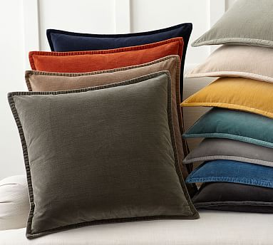 Material% velvet,very soft. Pillow covers only(set of 2),pillow JUSPURBET Pack of 2,Velvet Decorative Throw Pillows Covers Cases for Couch Bed Sofa,Soild Color Soft Pillowcases,24x24 Inches,Navy Blue. by JUSPURBET. $ $ 20 99 $ Prime. FREE Shipping on eligible orders.