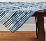 Shibori Diamond Table Throw