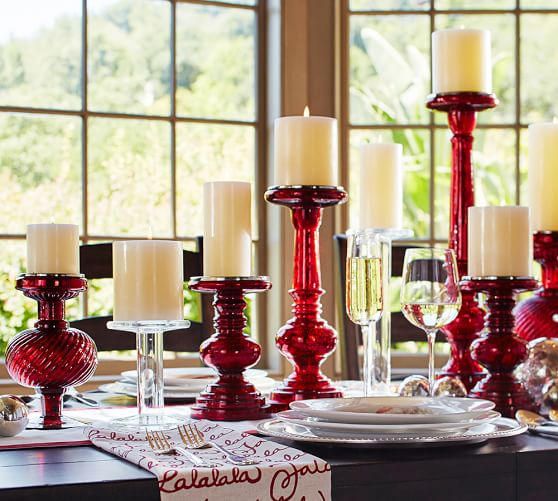 Pottery Barn Red Kitchen Chairs