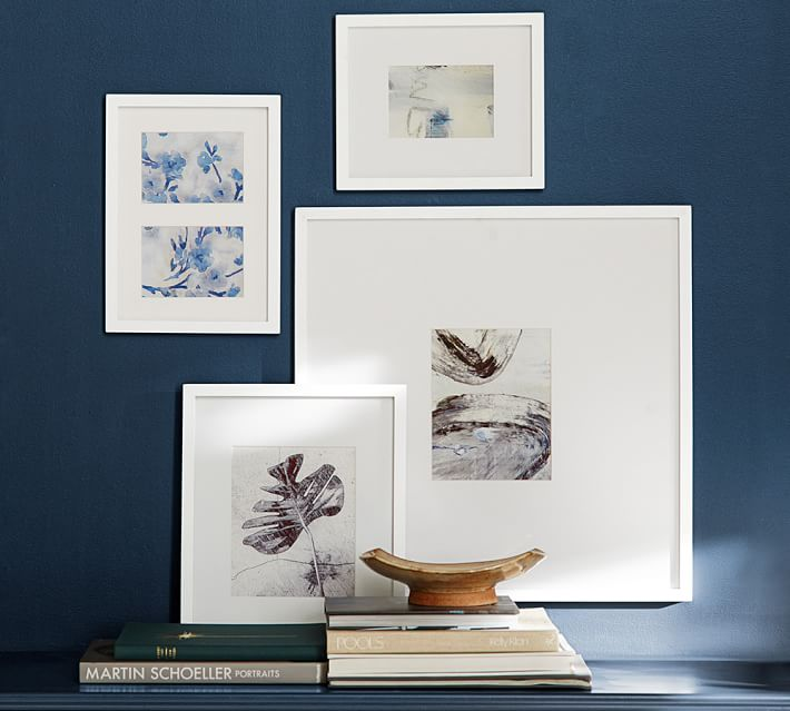 wood gallery single opening frames pottery barn
