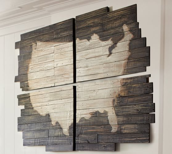 Ideas To Paint The United States Map Metal Art