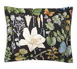 Poppy Botanical Reversible Sham, Standard, Multi