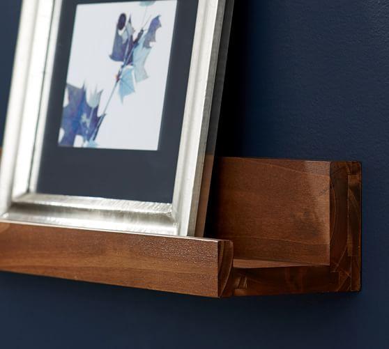 Holman Ledge, 2', Rustic Wood