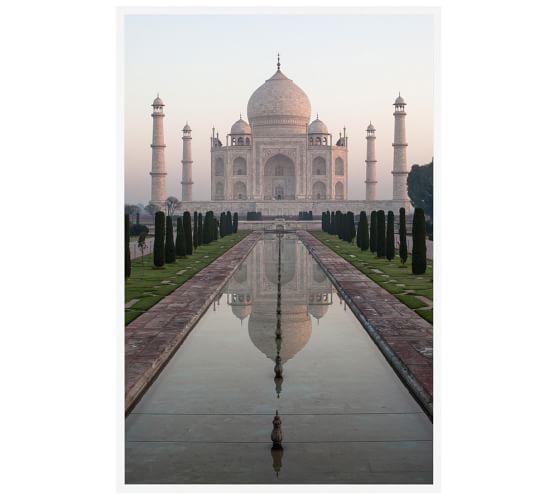 Taj Mahal Framed Print By Jesse Leake Pottery Barn