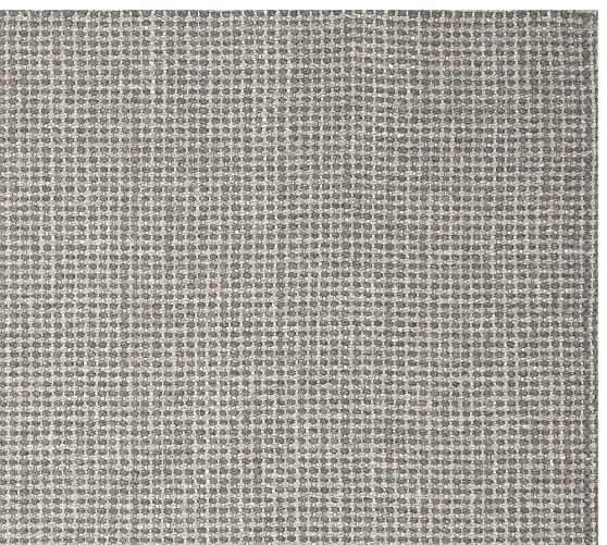 Chunky Wool Basketweave Rug Charcoal Pottery Barn