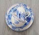 Scalloped Tidbit Plate Set Of 4 Pottery Barn