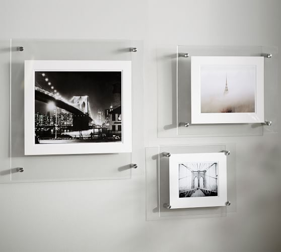 acrylic gallery frames pottery barn