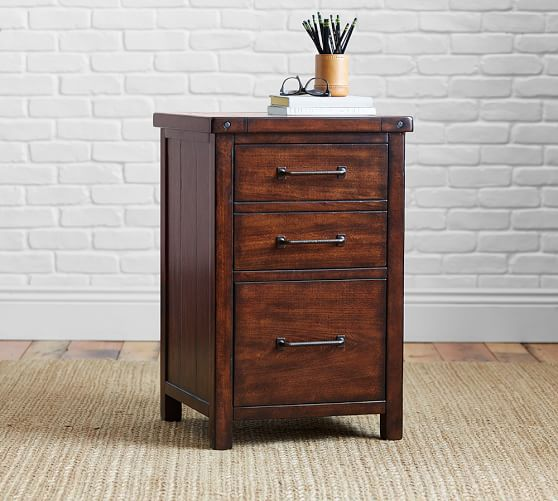 Benchwright File Cabinet Pottery Barn