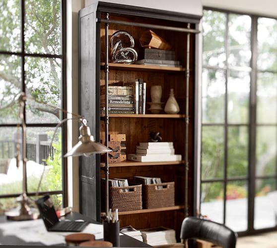 Gavin Reclaimed Wood Bookcase   Pottery Barn