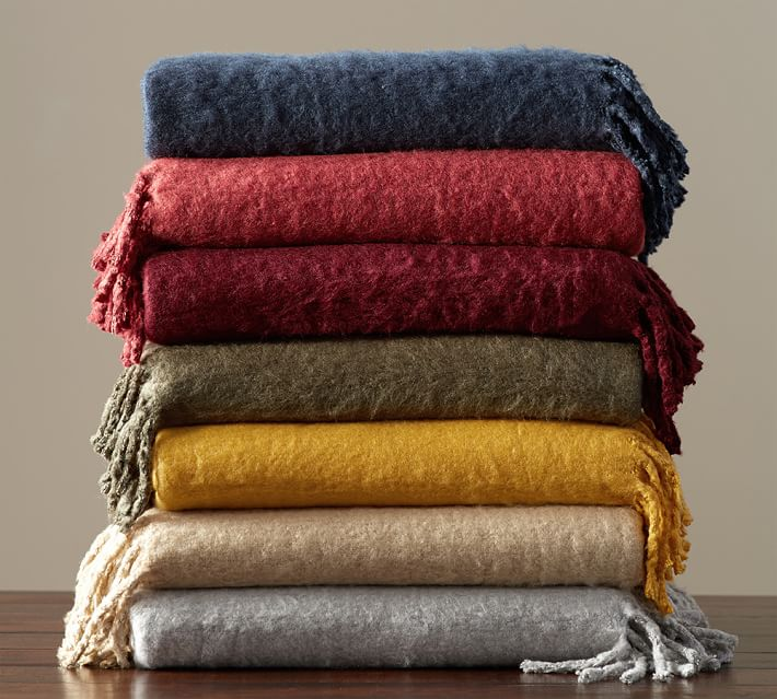 Mohair Blankets | Shop Online | Urbanara.co.uk