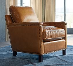 Leather Occasional Chairs Pottery Barn