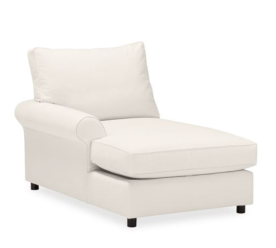 Build your own box edge pb comfort roll arm upholstered for Box edge chaise cushion