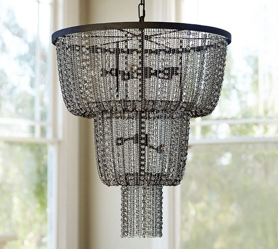 Pottery Barn Chandelier Wiring Instructions: Anise Crystal Chandelier