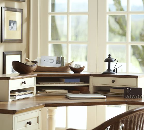 Whitney Corner Desk Hutch Pottery Barn