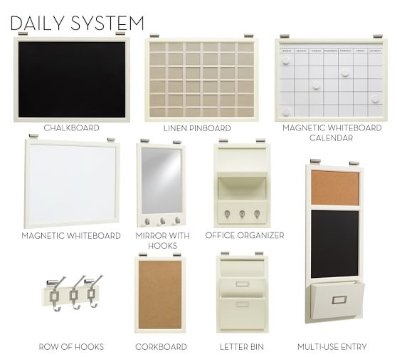 Build Your Own Daily System Components Creamy White