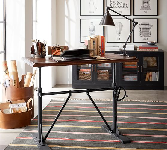 Pittsburgh Crank Coffee Table: Pittsburgh Crank Sit-Stand Desk