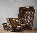 Havana Oval Magazine Basket Pottery Barn