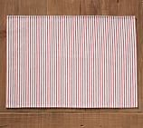 Wheaton Stripe Placemat, Set of 4 - Red