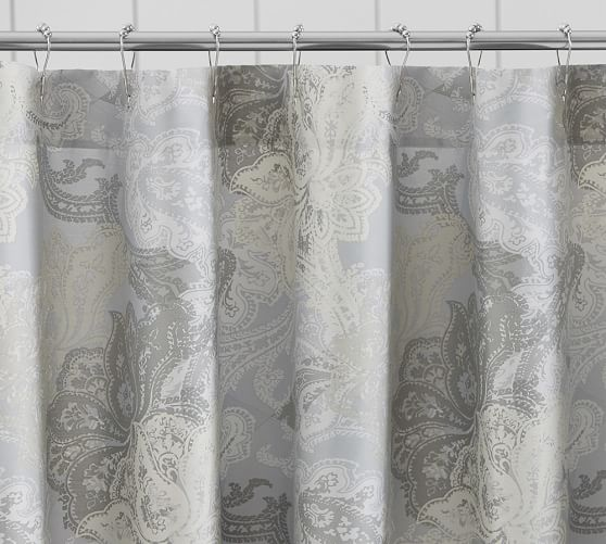 Willow Paisley Shower Curtain Pottery Barn