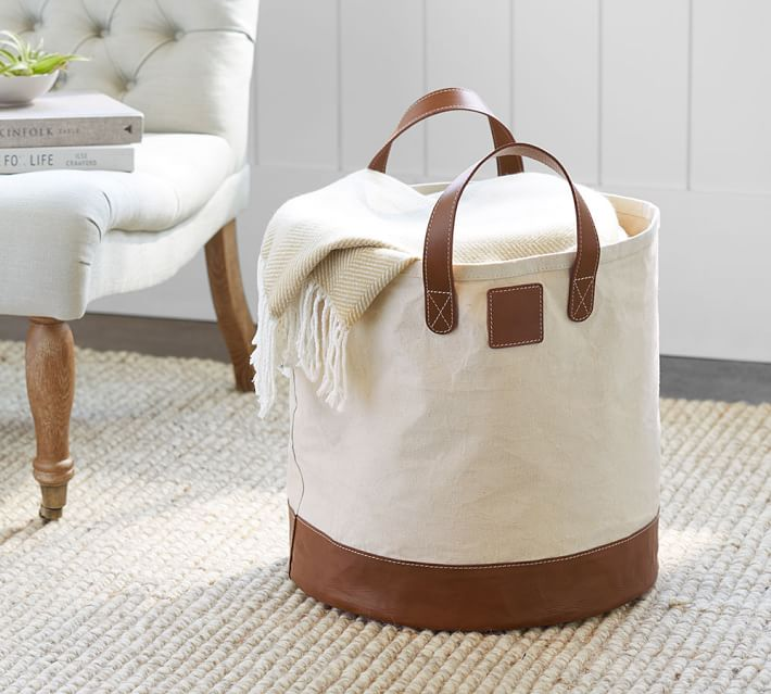 Leather Home Decor Pottery Barn