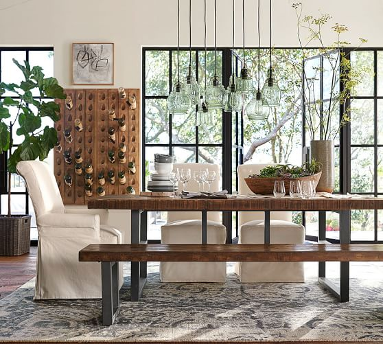 ... salvaged wood dining table · scroll ...
