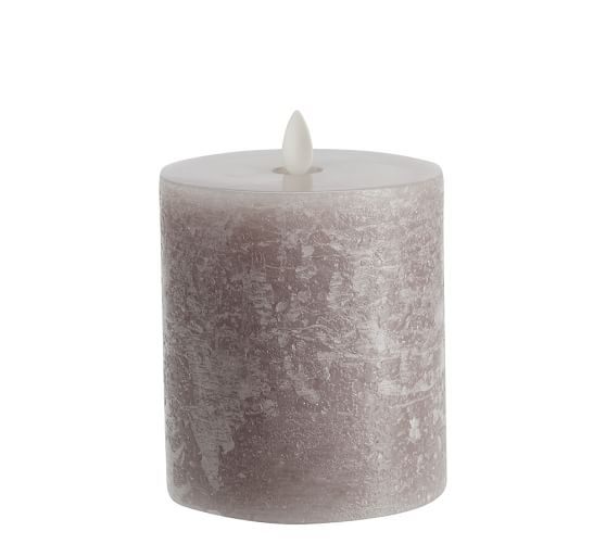 Premium Flickering Flameless Candles Gray Pottery Barn