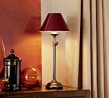 Chelsea Accent Lamp Base, Antique Nickel finish