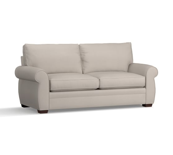 Petite Pearce Upholstered Sofa 76 Down Blend Wrapped