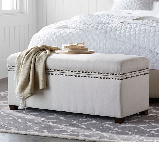 Tamsen Storage Bench Pottery Barn